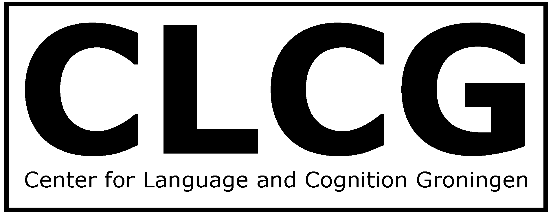 The Center For Language And Cognition Groningen Clcg Is A Research Insute Within Faculty Of Arts University
